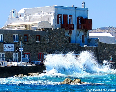 Mykonos in the Greek Isles