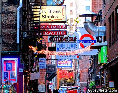 Printer's Alley, Nashville's famous nightclub row named for the print shops that used to occupy the narrow passage, and learned that it became an entertainment district during prohibition when the printers would secretly sell the alcohol they used in the printing process once the sun went down.