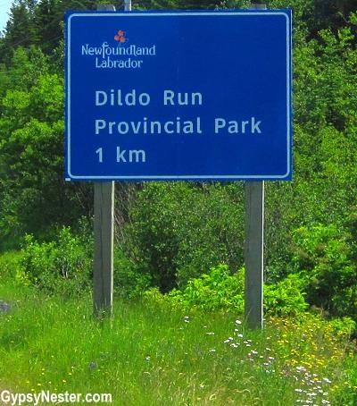 Dildo Run in Newfoundland, Canada