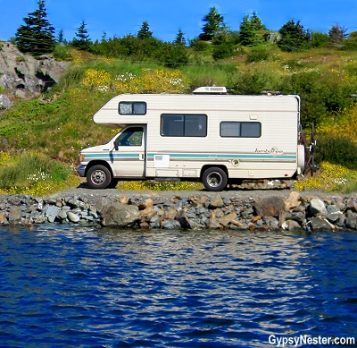 RVing in Newfoundland