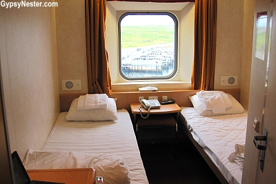 Our cabin on Marine Atlantic's Atlantic Vision