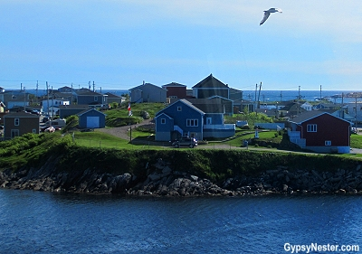 Entering the harbor at Port aux Basques, Newfoundland