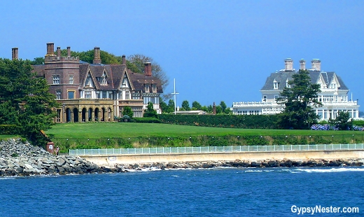 The mansions of Newport, Rhode Island