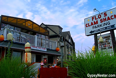 Flo's Clam Shack in Newport, Rhode Island