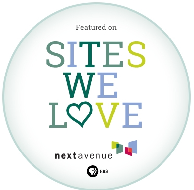The GypsyNesters are featured Sites We Love on Next Avenue!