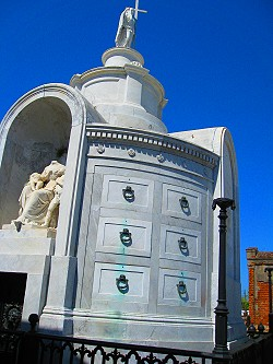 St. Louis Cemetery number one in New Orleans, Louisiana