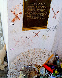 The Tomb of Voodoo Queen Marie Laveau
