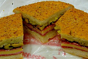 When God wants a sandwich, he goes to Central Grocery in New Orleans for a muffuletta