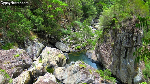 A refreshing stream in Noosa, Queensland, Australia