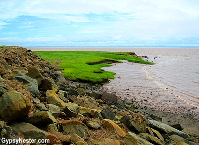 The Bay of Fundy, New Brunswick, Nova Scotia