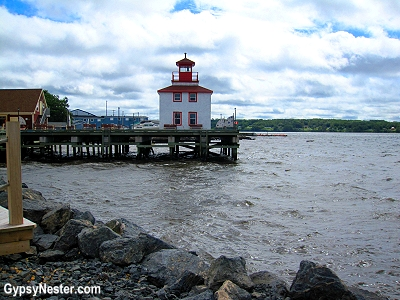 A quay in Pictou, Nova Scotia, Canada
