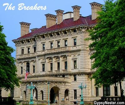 Vanderbilt's The Breakers in Newport, Rhode Island