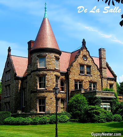 De La Salle Mansion in Newport, Rhode Island