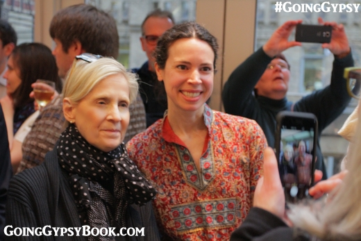 Betty Newman and Phoebe Stout joined us at the Going Gypsy book release party in New York City! http://www.goinggypsybook.com