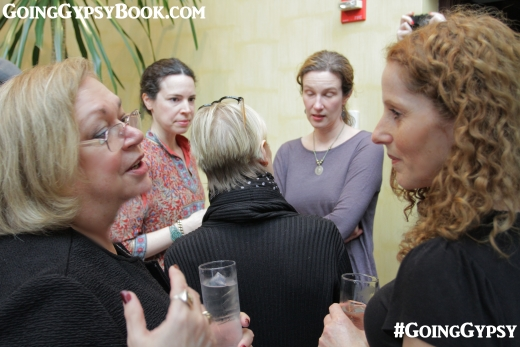 Dr. Susan Meyer and actress Susanna Baddeil at the Going Gypsy book release party http://www.goinggypsybook.com
