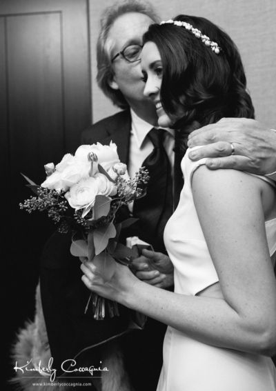 David gives away The Piglet at her wedding in NYC. GypsyNester.com