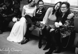 The Mob and Mog at The Piglet and Frenchie's City Hall Wedding