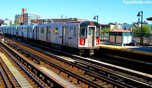 40% of the NYC subway is above ground