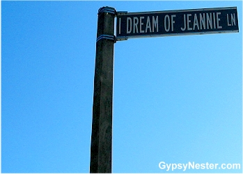I Dream of Jeannie Lane, Cocoa Beach, Florida