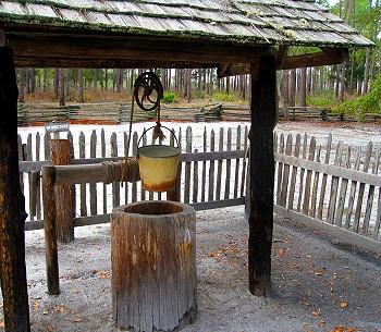 Hollow log well