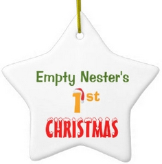 Gifts for Boomers- Empty Nester's First Christmas Ornament