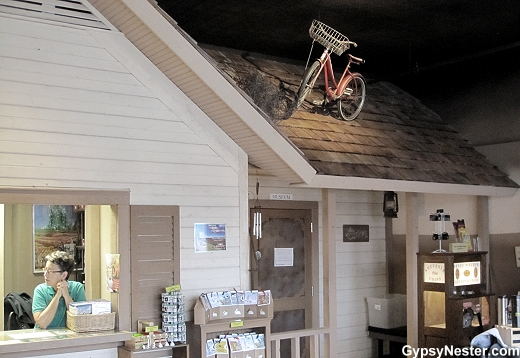 Auntie Em's house at The Oz Museum in Wamego, Kansas