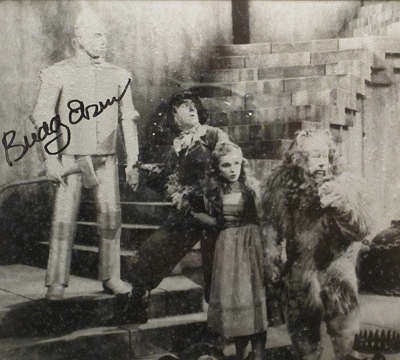 Buddy Epson as the Tin Man at The Oz Museum in Wamego, Kansas