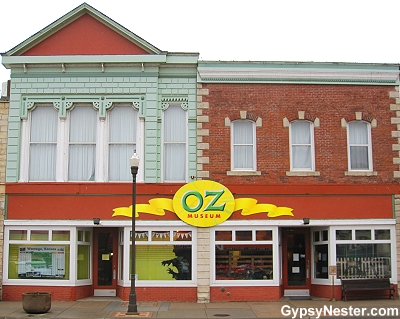 The Oz Museum in Wamego, Kansas
