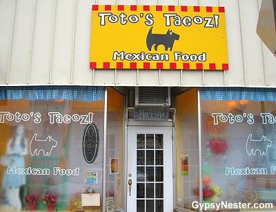 Toto's Tacoz in Wamego, Kansas