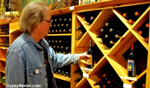 The Oz Winery in Wamego, Kansas