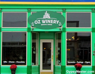 The Oz Winery in Wamego, Kansas