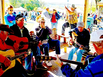 Folk Music players in Mountain View Arkansas