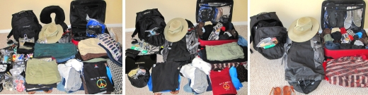 What we've packed for South America