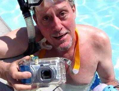 Underwater camera practice!