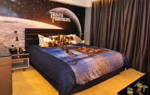 The Transformers Suite at the Panda Hotel in Hong Kong!