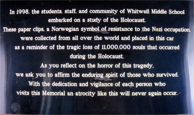 The story of how children collected paper clips to remember the Holocaust victims