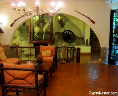 The lobby of Parador Resort and Spa, Costa Rica