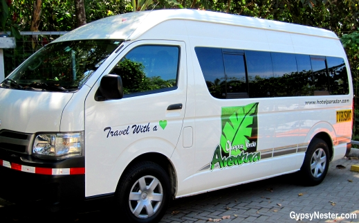 Tour van of Parador Resort and Spa, Costa Rica