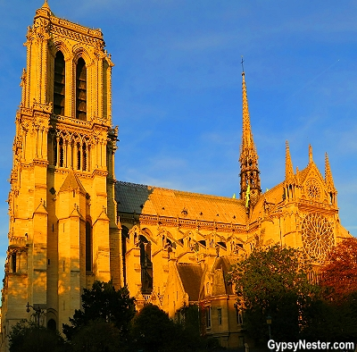 Notre Dame Cathedral in Paris, France - GypsyNester.com