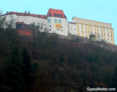 The castle in Passau, Germany