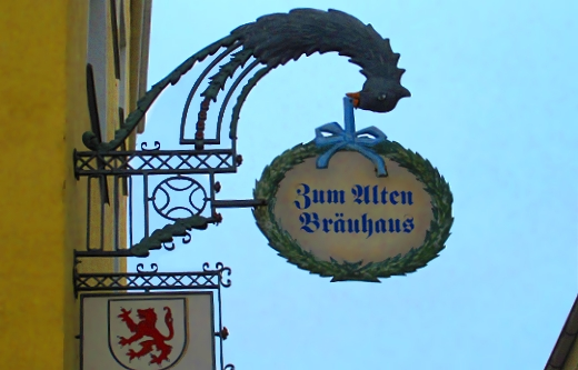 Zum altenBrauhaus in Passau, Germany