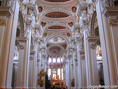 St. Stephen's Cathedral in Passau, Germany