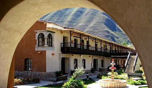 Posada del Inca in Yucay, Sacred Valley. Peru