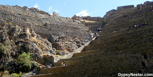 The Ollantaytambo Ruins, Sacred Valley, Peru