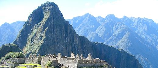 Huayna Picchu (young mountain)