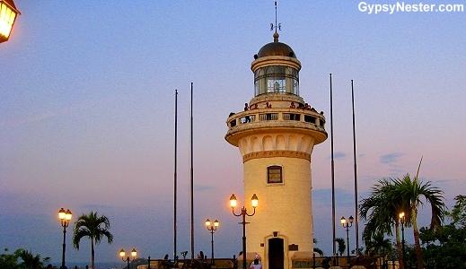 Lighthouse atop Santa Ana Hill, Guayaquil