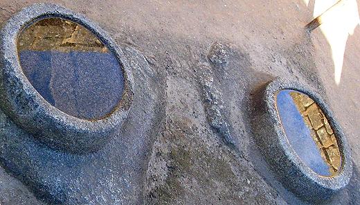 Reflecting pool at Machu Picchu