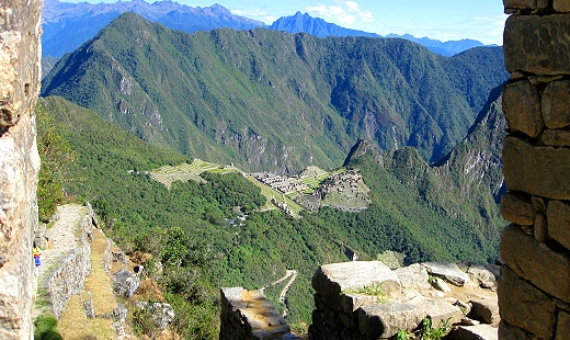 Machu Picchu from the Sun Gate