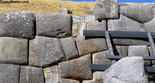 The Sacsayhuaman ruins in Cusco, Peru