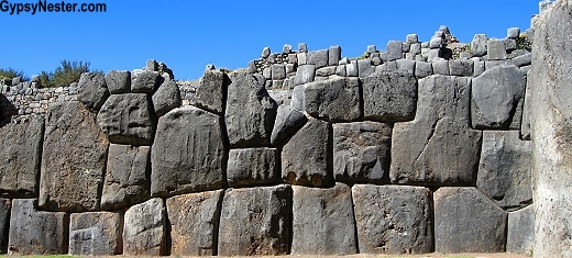 The Sacsayhuaman ruins in Cusco, Peru
